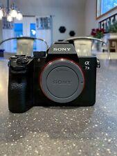 Sony a7 III 24.2 MP Mirrorless Digital Camera - Black (Body Only)