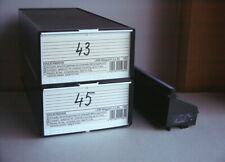 2 x KINDERMANN LKM Diakasten mit je zwei 80er- Diamagazinen;  guter Zustand!