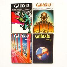 Lot de 4 livres GALAXIE n°115- 129-130-131- 1973 Science Fiction - Fantastique