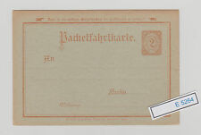 (E5264) Interessante Karte Packetfahrtkarte aus Belin