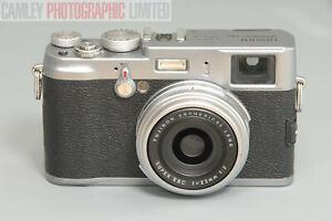 Fuji X100 Digital Camera w/ Leather Case and Strap. Graded: EXC+ [#10061]