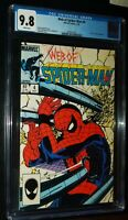 WEB OF SPIDER-MAN #4 1985 Marvel Comics CGC 9.8 NM/MT