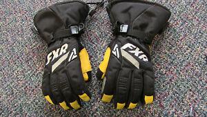 FXR Women's CX Snowmobile Glove - Small - Black/White