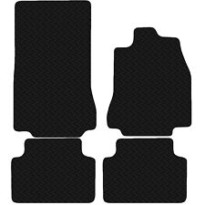 Jaguar XF 2008 - 2015 Black Floor Rubber Fully Tailored Car Mats 3mm 4pc Set