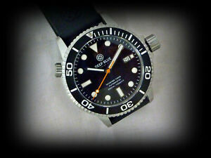 Deep Blue Master 1000 Auto Seiko 24 j Diver Men's