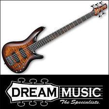 Ibanez SR405EQM DEB Electric Bass 5-String Quilt Maple Dragon Eye Burst RRP$1099