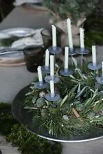 Ib Laursen Kerzenhänger Zink antik H15cm Kerzenhalter Metall Spieß f.dünne Kerze