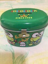 Kerokerokeroppi Lucky Day Coin Piggy Metal Bank Sanrio 550 Jxjz