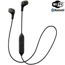 JVC HAFX9BT BLACK Wireless Bluetooth In Ear Headphone Mic & Remote HA-FX9BT /NEW