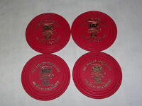 VINTAGE BAR BEER WILSHIRE ELECTRONICS CP CLARE & CO  4 PLASTIC DRINK COASTERS