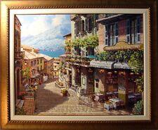 S.SAM PARK Antica Giacomo 2001 Hand Signed Giclee w/custom frame Canvas
