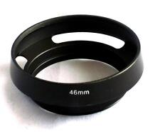 Metal Vented Lens Hood for 46mm Filter Thread Panasonic 20mm Leica Olympus MH-46