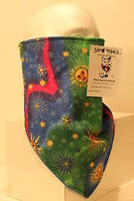 sun and stars lined bandana mask scarf fierce face protection copd