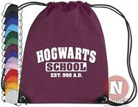 Hogwarts School kit bag drawstring gym PE school - Harry Potter Wizards