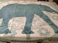 Society6 Elephant Mandala, Floral, Animal - Wall Tapestry / Throw / Tablecloth