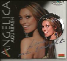 Eurovision  2005 Belarus Love Me Tonight Angelica Agurbash Promo CD & Badge