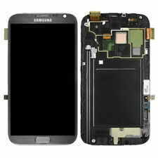 For Samsung Galaxy Note2 N7105 i317 LCD Touch Screen Digitizer Gray Frame Tools