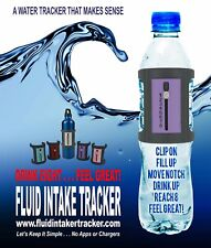 Water Intake Tracker (GREEN) - A water bottle accessory. Great New Product!