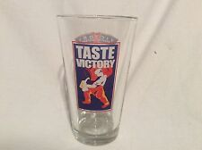 VICTORY BREWING COMPANY TASTE VICTORY Pint Glass Craft Beer Micro Brewery PA H