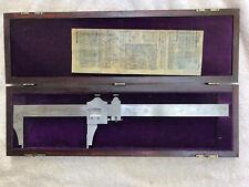 Brown Amp Sharpe 570 13 Micrometer Case Paperwork