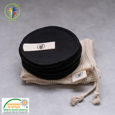 Reusable Bamboo Cotton Makeup Remover Pads Zero Waste Vegan Organic Washable Eco