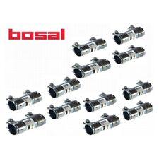 12x BOSAL 265-125 Rohrverbinder Doppelschelle Abgasanlage SEAT SKODA VW 42x125mm