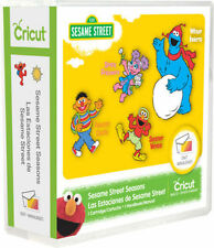 Cricut Sesame Street Seasons Cartridge is brand-new, in its original packaging