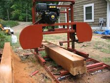 "Sawmill Portable Bandsawmill Kit 36"" X 16' $1,895.00 Free Engine Upgrade ."