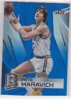2014-15 Panini Spectra Blue Prizm #/49 Pete Maravich Utah Jazz Basketball Card