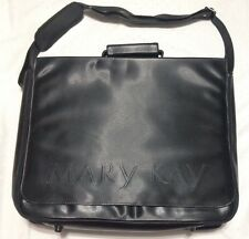 MARY KAY CONSULTANT LARGE SHOULDER BAG TOTE ORGANIZER BLACK