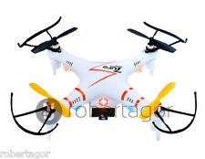 QUADRICOTTERO MINI DRONE FOTO VIDEO STAR AIRCRAFT 6 ASSI UFO 2.4 Ghz VIDEOCAMERA