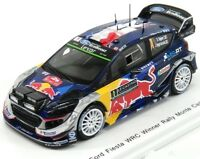 FORD FIESTA RS WRC #1 - S.OGIER - 1º RALLY MONTE CARLO 2017 1/43 NEW SPARK S5154