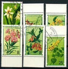 Saint Thomas and Prince Islands 1979 Mi. 568-573 Used 100% Flora flowers Nature