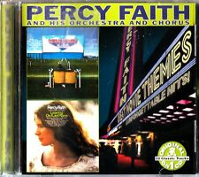 PERCY FAITH Held Over Movie Themes/Leaving On A Jet Plane 2on1 CD Classic LP