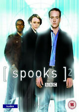 SPOOKS COMPLETE SERIES 2 DVD 2nd Second Season Brand New Sealed UK Release