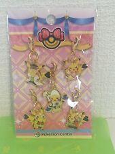 Rere pokemon center Limited Dressed pikachu Metal Charm set 2015 pocket monster