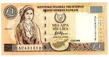 Cyprus ... P-60b ... 1Lira ... 1988 ... *XF*