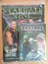 DVD COLLECTION STARGATE SG 1 PART 49 + MAGAZINE - NEW SEALED IN ORIGINAL WRAPPER