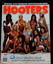 Vtg Hooters Magazine #77 Sexy Calendar Girls Pin Up Bikini Models Racing Sports