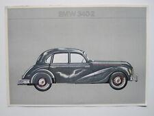 EMW 340-2 1949-1955 Automobilwerk Eisenach Technische Daten 1969 DDR