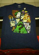 Loot Crate Exclusive Batman Villain Joker Riddler Penguin Shirt Medium *New