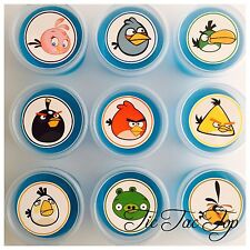 1x Angry Birds Jelly Cup (Empty). Party Supplies Lolly Loot Bag Deco Toppers