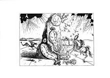Salvador Dali. Kunstdruck auf Papier. Kopie. VF16157