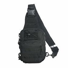 Tactical Sling Bag Cross Body Chest Rucksack Military Shoulder Pack EDC Molle F