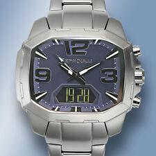 Bernoulli Men's Rigel Stainless Steel Dial Analog-Digital Watch,blue face no box