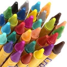 36x WAX CRAYONS Kids Safe & Non-Toxic Assorted Bright Bold Colours Art Craft