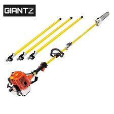 Giantz 75cc Pole Chainsaw Brush Cutter Tree Hedge Pruner Petrol Brush Long Reach
