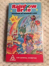 Rainbow Brite - Invasion of Rainbow Land - Volume 5 - VERY RARE VHS