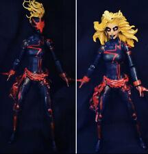 Marvel Legends CUSTOM Ms Marvel Dark Captain Marvel  X-Men Female Fodder