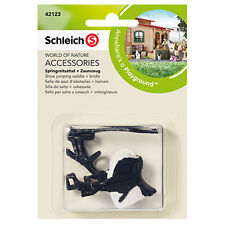 Schleich - Show Jumping Saddle + Bridle NEW * Farm Life Toy Accessories # 42123